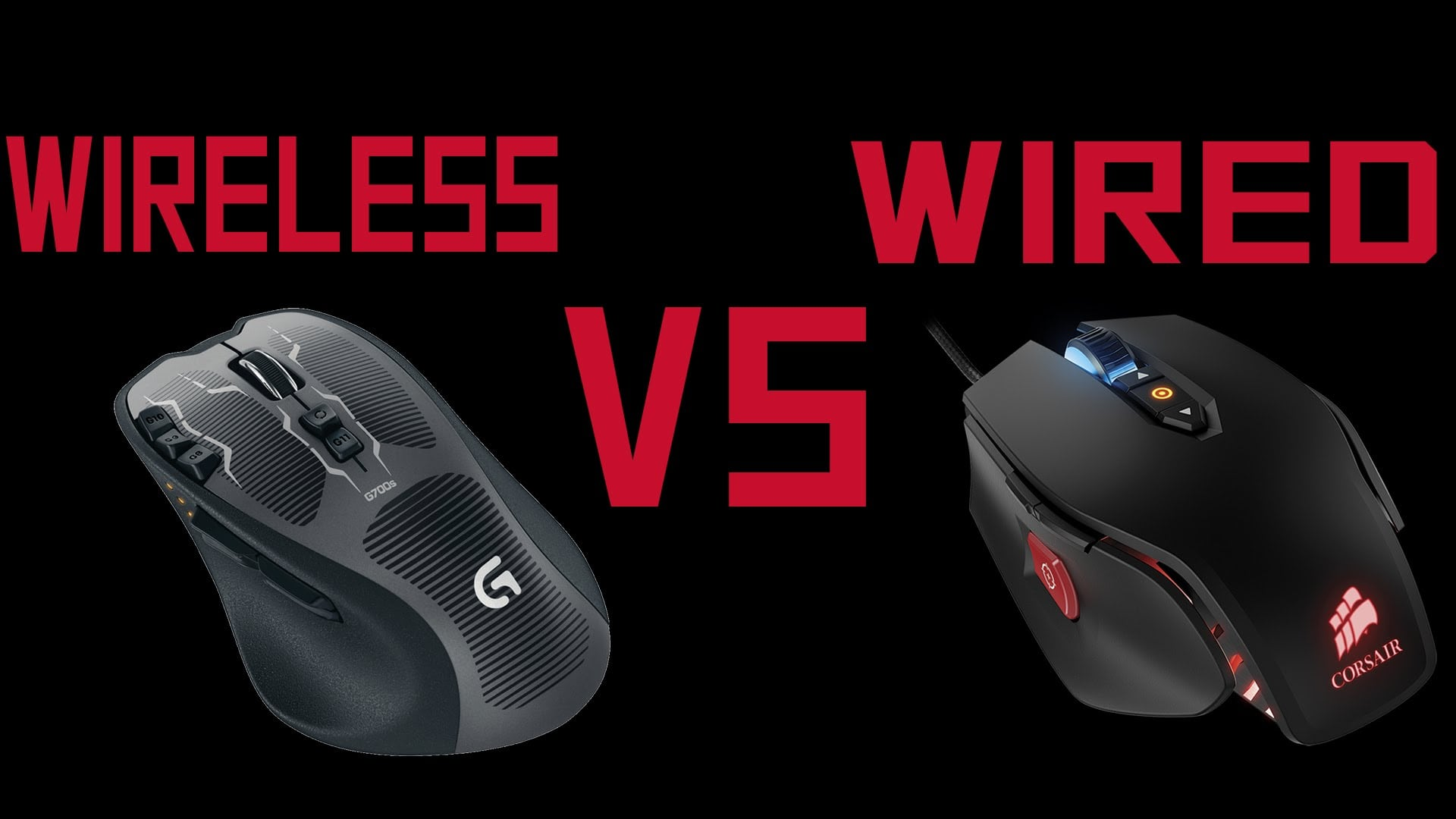 wired vs wireless mouse